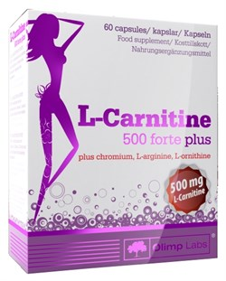 Olimp L-Carnitine 500 forte plus (60капс) - фото 4641