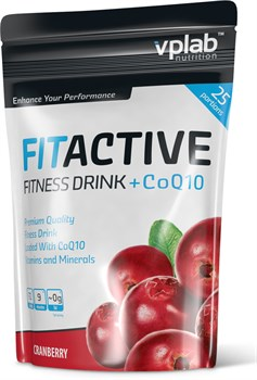 VP Laboratory FitActive Fitness Drink + Q10 (500гр) - фото 4664
