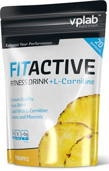 VP Laboratory FitActive Fitness Drink + L-Carnitine (500гр) - фото 4665