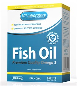 VP Laboratory Fish Oil (60капс) - фото 4678