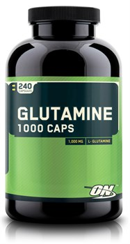Optimum Nutrition Glutamine Caps 1000 mg (240капс) - фото 4699