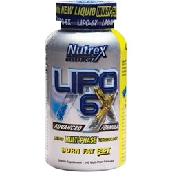 Nutrex Lipo 6x (240капс) - фото 4732