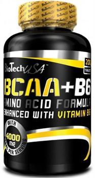 BioTech USA BCAA+B6 (200таб) - фото 4808