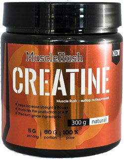 Muscle Rush Creatine (300гр) - фото 4839