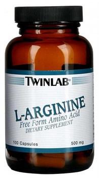 Twinlab L-Arginine (100капс) - фото 4842