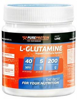 PureProtein - L-Glutamine (200гр) - фото 4845