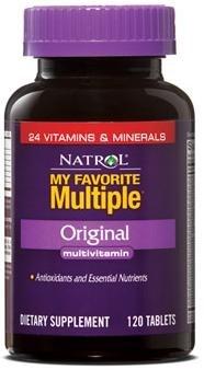 Natrol - My Favorite Multiple Original (120таб) - фото 4878