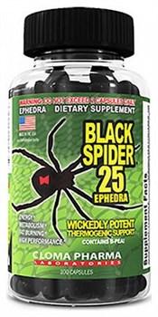 Cloma Pharma - Black Spider (100капс) - фото 4890