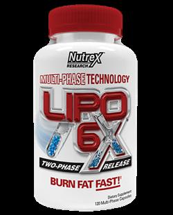 Nutrex Lipo 6x (120капс) - фото 4907