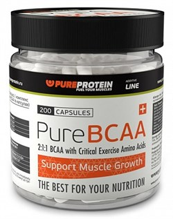 PureProtein - BCAA (200капс) - фото 4960
