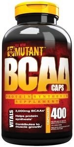 Mutant - BCAA (400капс) - фото 4970