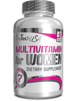 BioTech USA Multivitamin for Women (60таб) - фото 5024