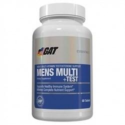 GAT - Mens Multi Vitamin + Test (60капс) - фото 5037