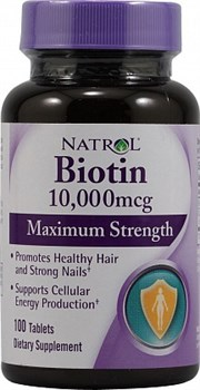Natrol - Biotin 10.000mcg (100таб) - фото 5046