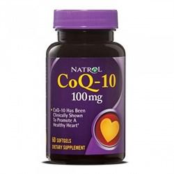 Natrol - CoQ-10 100 mg (60гел.капс) - фото 5048