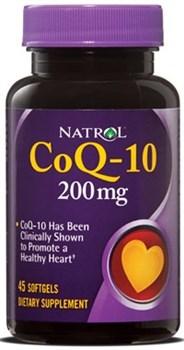 Natrol - CoQ-10 200 mg (45гел.капс) - фото 5049