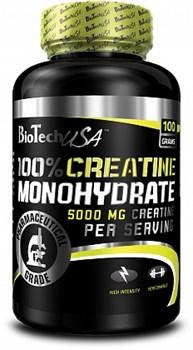 BioTech USA 100% Creatine Monohydrate (100гр) - фото 5052