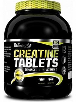 BioTech USA Creatine tablets (200таб) - фото 5056