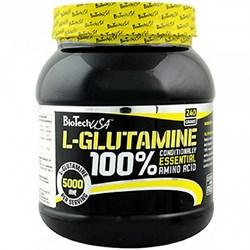 BioTech USA L-Glutamine (240гр) - фото 5072