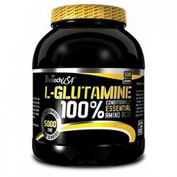 BioTech USA L-Glutamine (500гр) - фото 5073