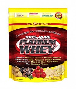 SAN 100% Pure Platinum Whey (4628гр) - фото 5097