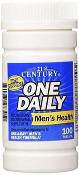 21st Century One Daily Mens Health (100таб) - фото 5142