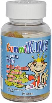 Gummi King multi-vitamin and mineral (60жев.таб) - фото 5147