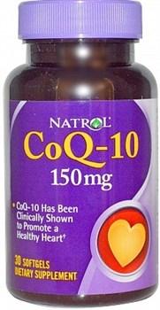 Natrol - CoQ-10 150 mg (30гел.капс) - фото 5151