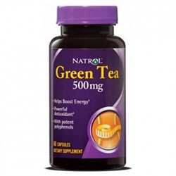 Natrol - Green Tea 500mg (60капс) - фото 5155