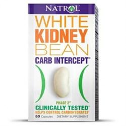 Natrol - White Kidney Bean Carb Intercept TM Phase 2+ Cr (60капс) - фото 5158