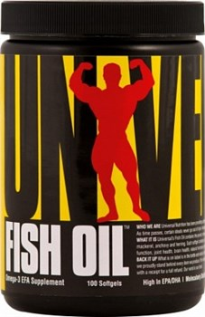 Universal Nutrition Fish Oil (100капс) - фото 5166