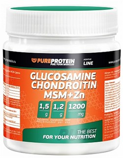 PureProtein - Glucosamine Chondroitin MSM+Zn (100гр) - фото 5188