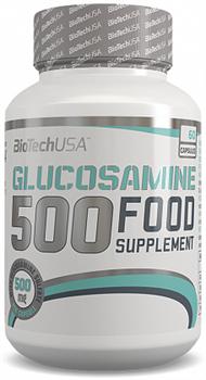 BioTech USA Glucosamine 500 (60таб) - фото 5189