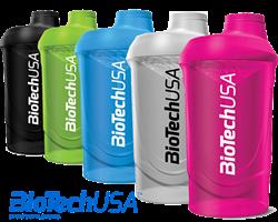 BioTech USA Шейкер Wave (600мл) - фото 5199