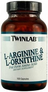 Twinlab L-Arginine &  L-Ornithine (100капс) - фото 5215