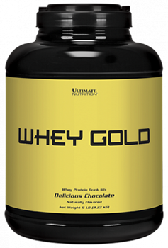 Ultimate Nutrition Whey Gold (2270гр) - фото 5218