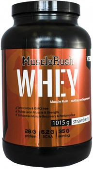 Muscle Rush Whey (1015гр) - фото 5226