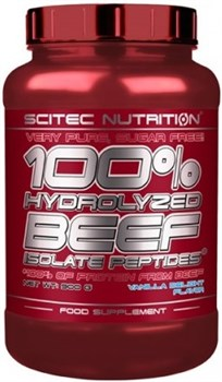 Scitec Nutrition - 100% Hydro Beef Peptid (900гр) - фото 5249