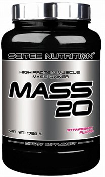 Scitec Nutrition - Mass 20 (1750гр) - фото 5251
