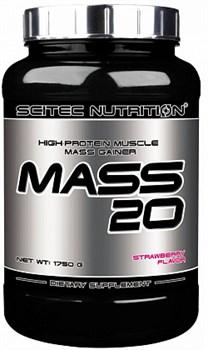 Scitec Nutrition - Mass 20 (1750гр) - фото 5251
