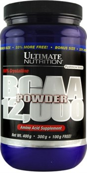 Ultimate Nutrition BCAA 12000 Powder (400гр) - фото 5284
