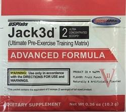 Usplabs Jack3d Advanced Formula (1 порция) пробник - фото 5367