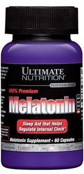 Ultimate Nutrition 100% Premium Melatonin (60капс) - фото 5378