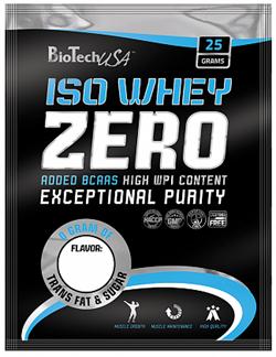 BioTech USA Iso Whey ZERO (1 порция) пробник - фото 5384