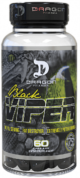 DragonPharmaLabs - Black Viper (60капс) - фото 5411