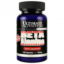 Ultimate Nutrition - Beta Alanine 750mg (100капс) - фото 5431
