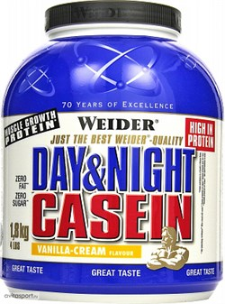 Weider Day & Night Casein (1800гр) - фото 5433