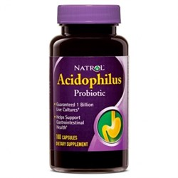Natrol - Acidophilus (100капс) - фото 5443