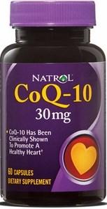 Natrol - CoQ-10 30 mg (60гел.капс) - фото 5457