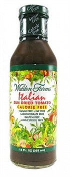 Walden Farms - Итальянская Салатная Заправка со вкусом Сушенных Томатов (355мл) - фото 5466